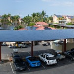 14' clear corrosion resistant Solar Canopies, Kona Coast HI, Sunetric