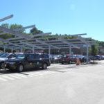 800 KW Solar Canopy