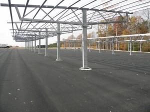 Solar Canopy at Marine Corps Base in Quantico, VA