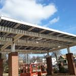 Solar Canopy for Bifacial Modules