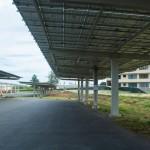 39.5' wide solar canopy, Marine Corps Base HI, Sunetric