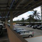Cantilevered Structures on Parking Deck, Plaza Landmark, Honolulu