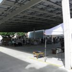 Long Span Structure for parking and outdoor market, Kailua HI