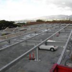 Long Span Structure on Parking Deck, Pearlridge Square, Honolulu HI
