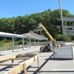 Hoisting Module Assemblies into Place